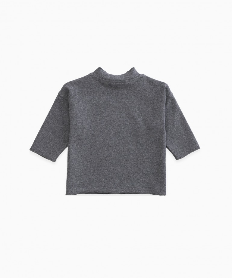 Jersey de cuello medio