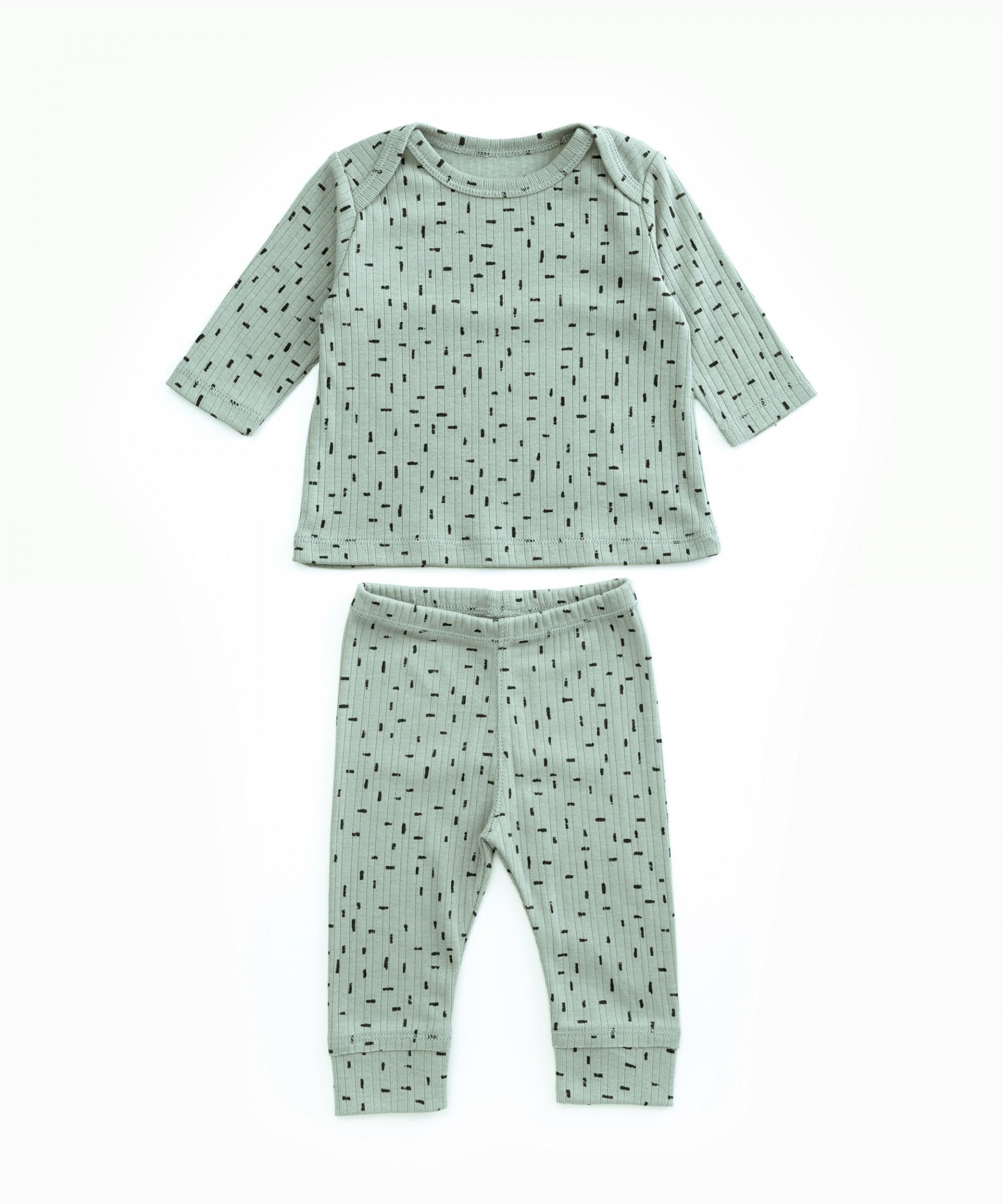 Pyjamas in organic cotton | Woodwork