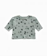 T-Shirt in cotone organico con apertura | Woodwork