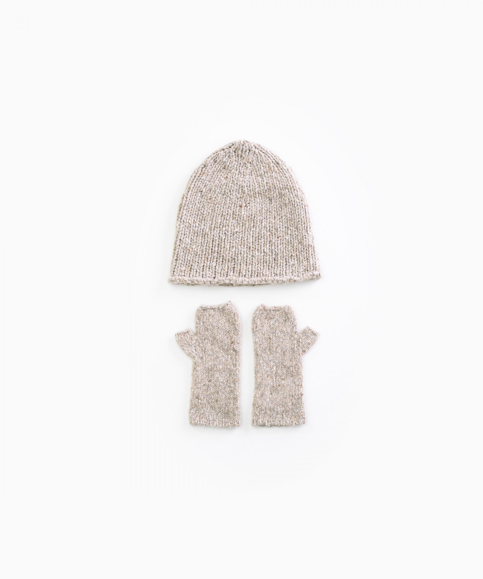 Conjunto tricot de fibras recicladas | Woodwork