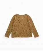 T-shirt with leaves print | Woodwork