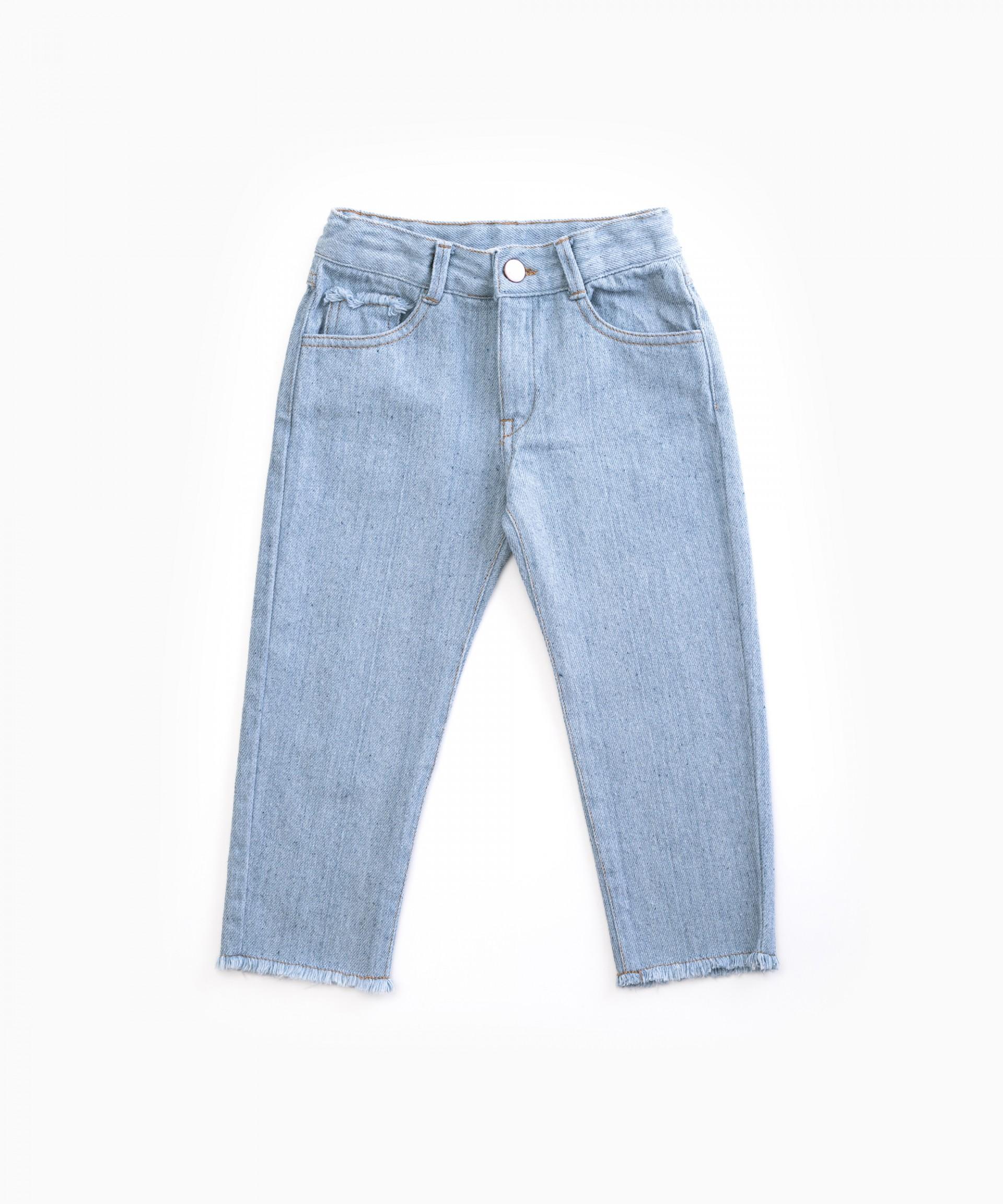 Pantalón vaquero con bolsillos | Woodwork