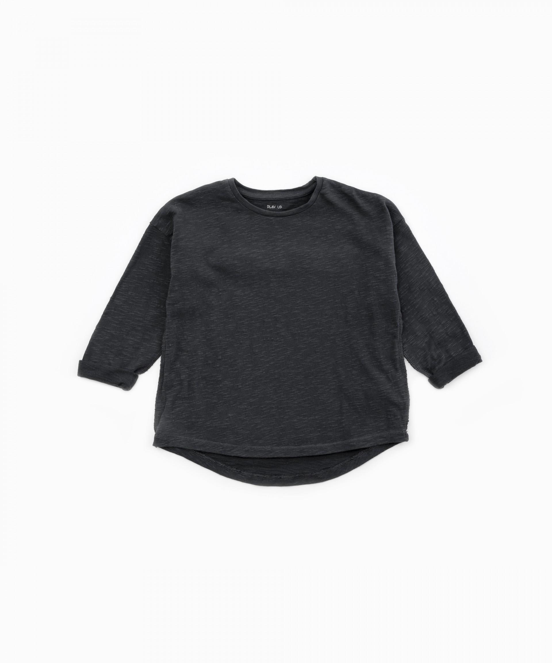 T-shirt com folho nas costas | Woodwork