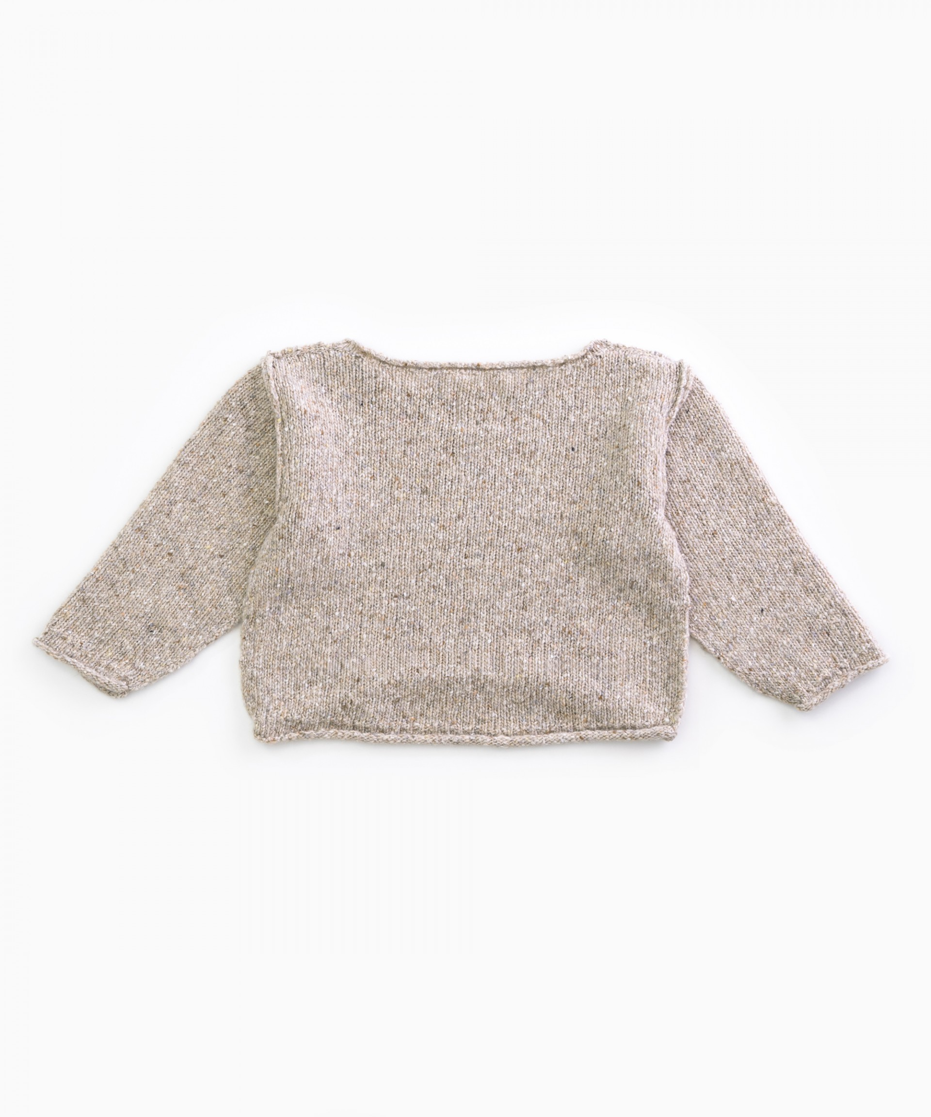 Knitted sweater | Woodwork