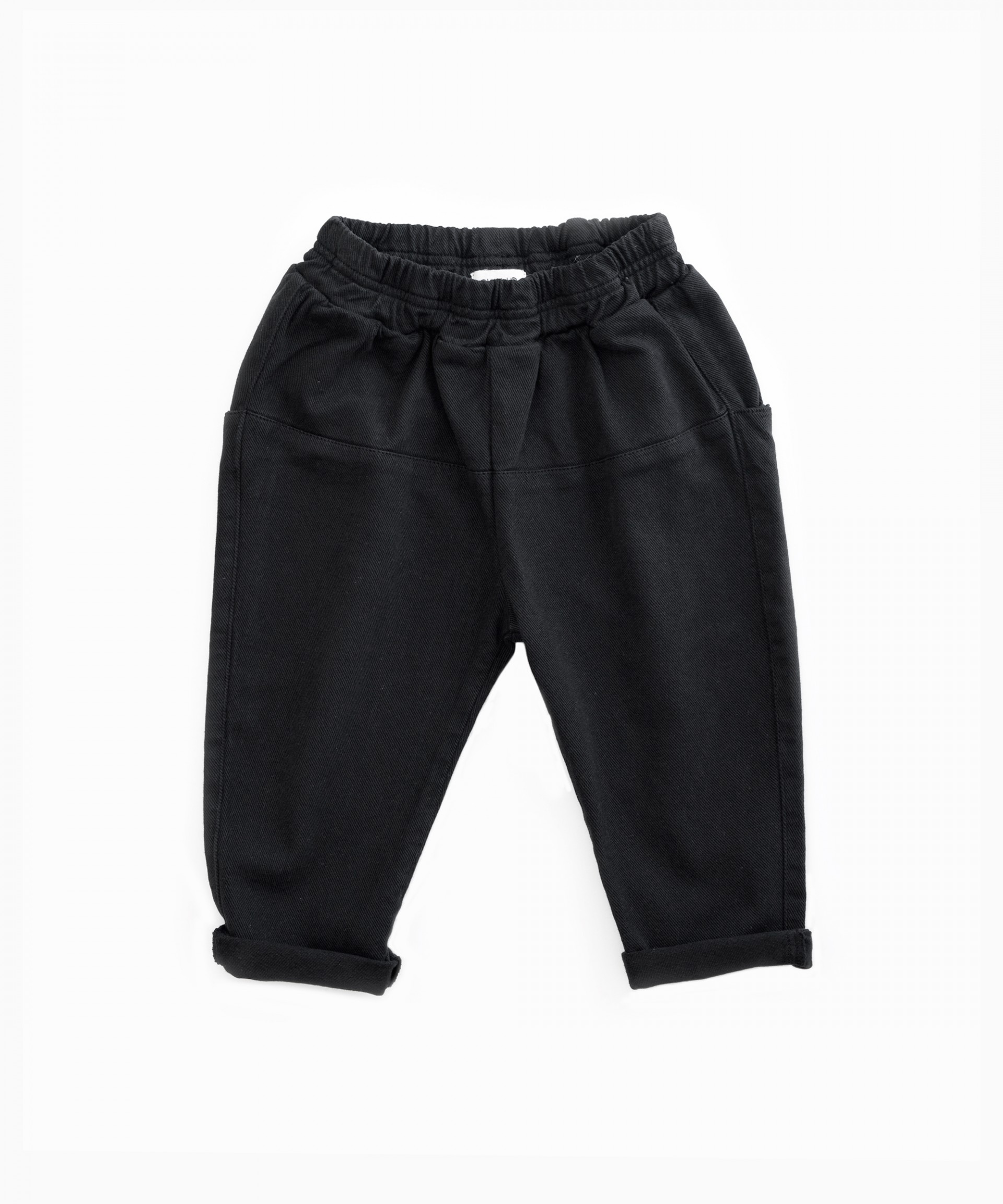 Serge trousers in organic cotton | Woodwork
