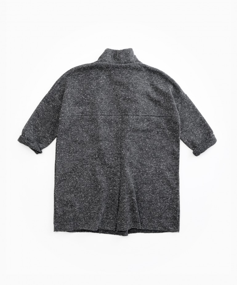 Jacket with recycled fibres