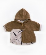 Furry jacket with recycled fibres | Woodwork