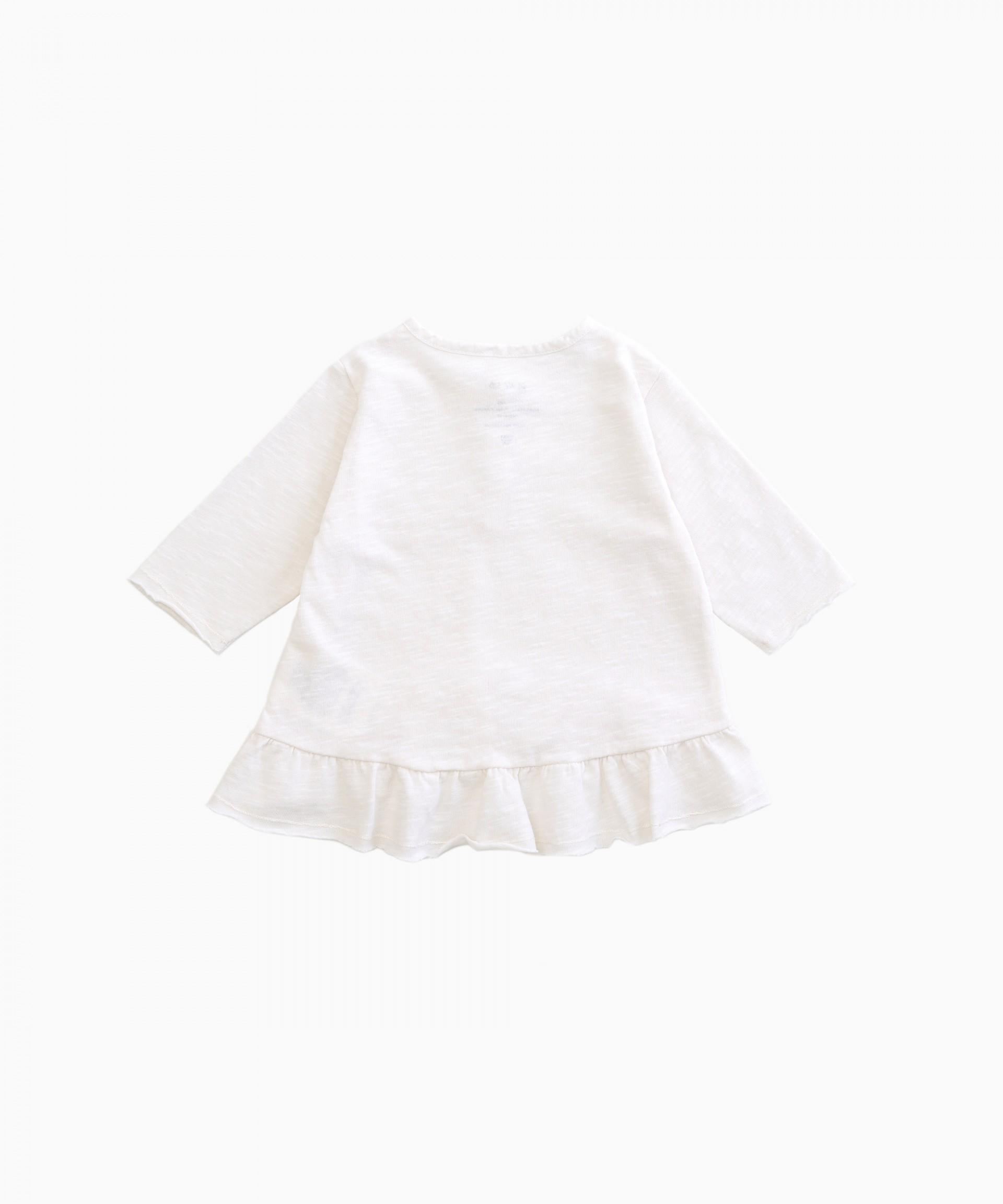 Camiseta de manga larga de algodón orgánico | Woodwork