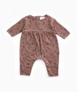 Jersey stitch jumpsuit| Woodwork