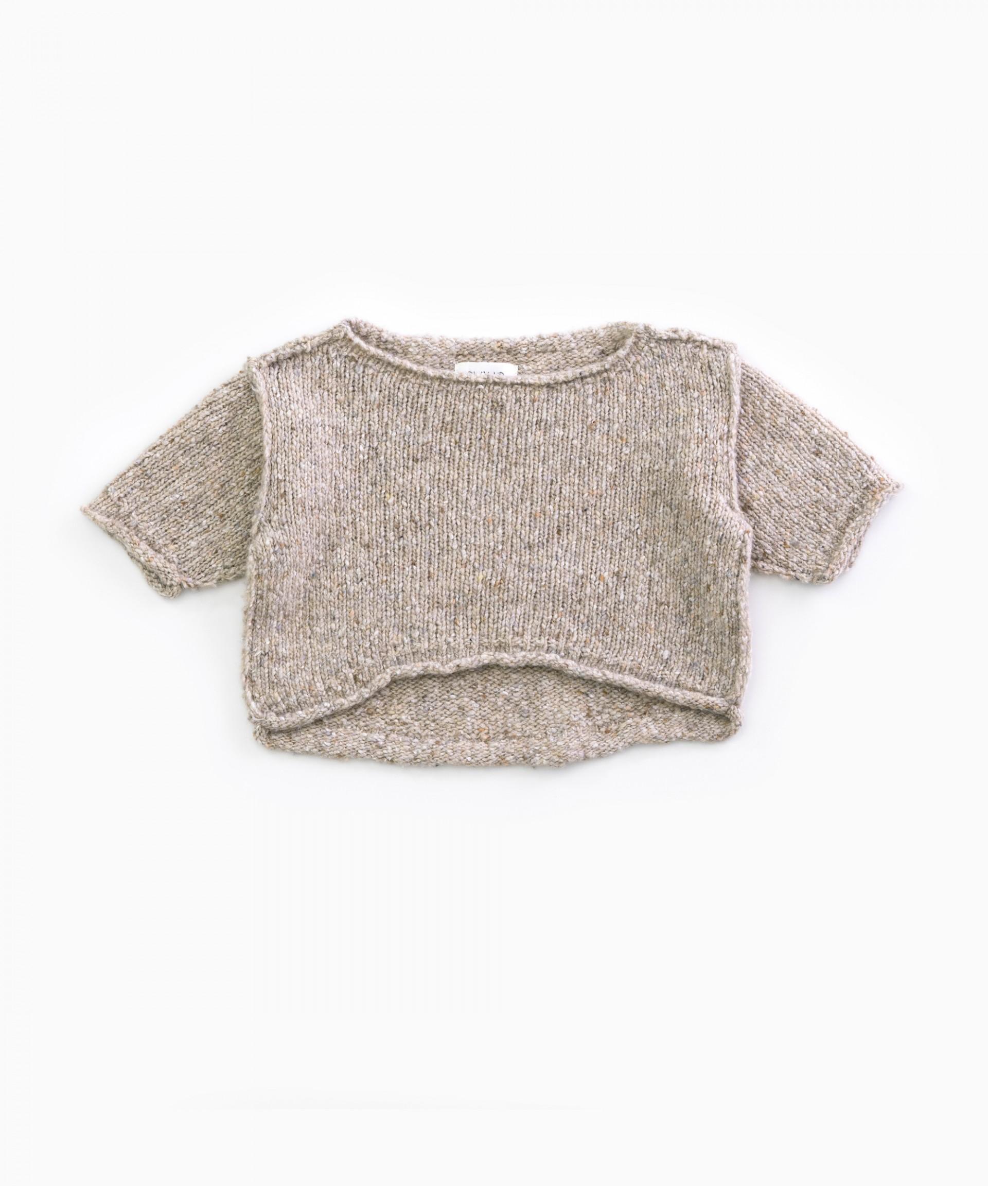Maglia lavorata a maglia con fibre riciclate | Woodwork