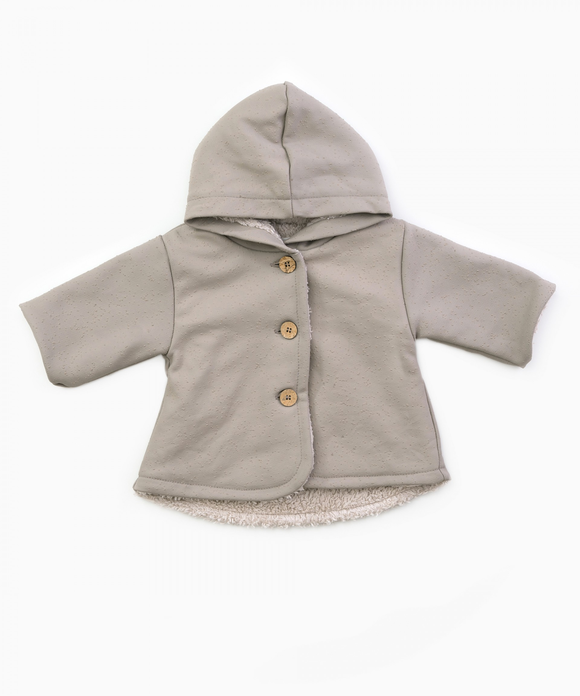 Waterproof hooded jacket with fur lining | Woodwork