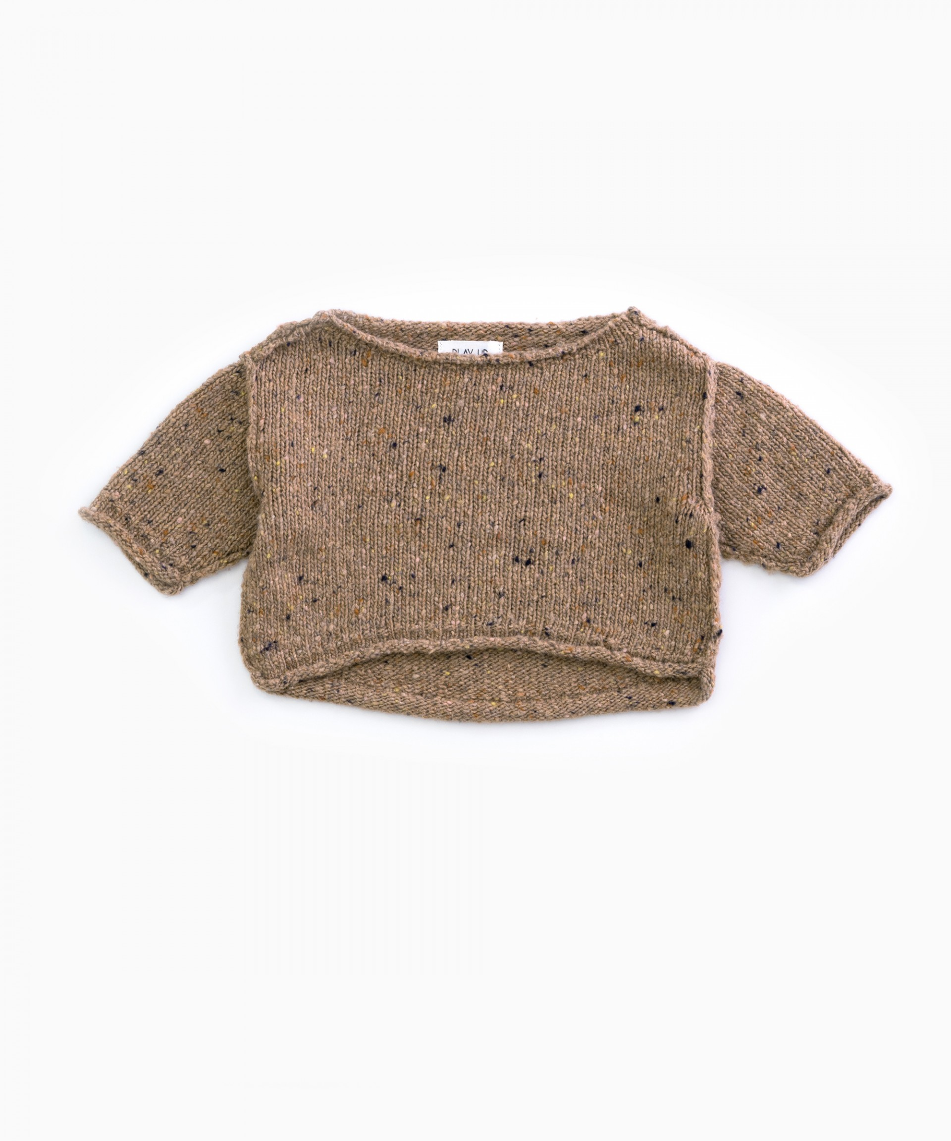 Knitted jersey with recycled fibres | Woodwork