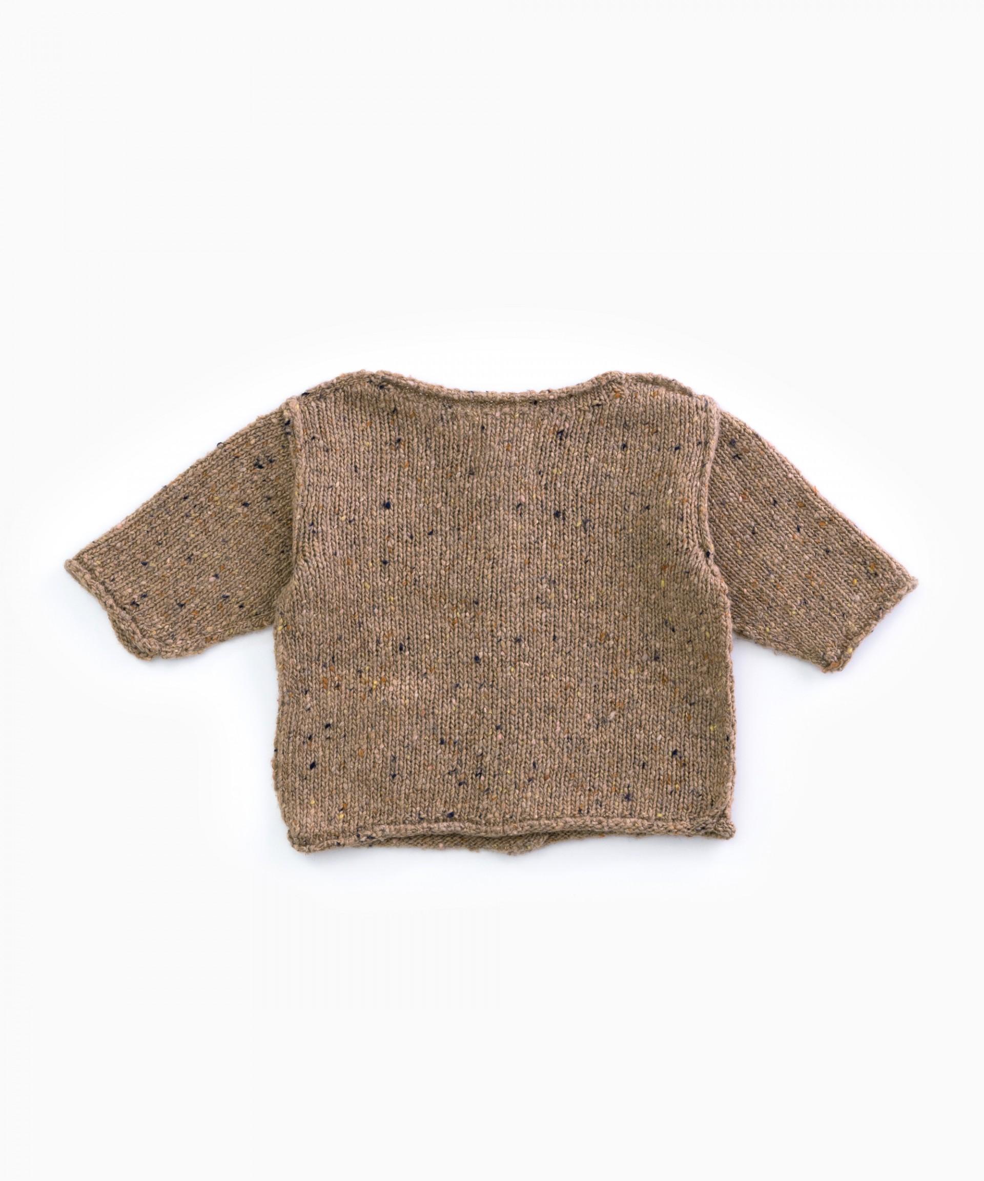 Chaqueta tricot con bolsillo | Woodwork
