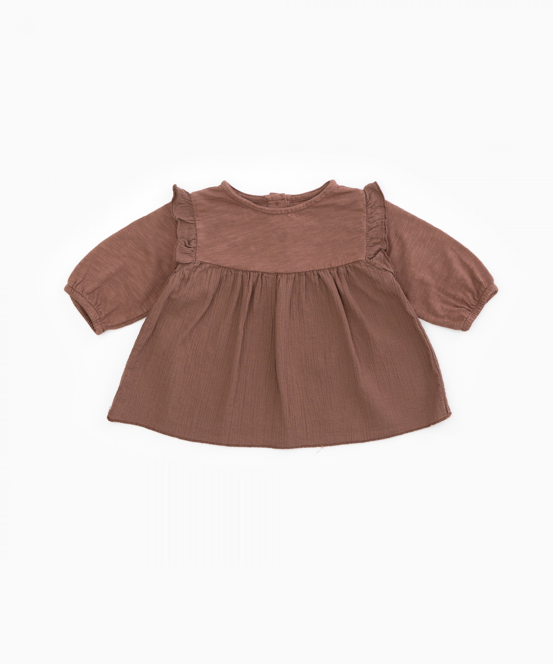 Tunic with frill | Woodwork