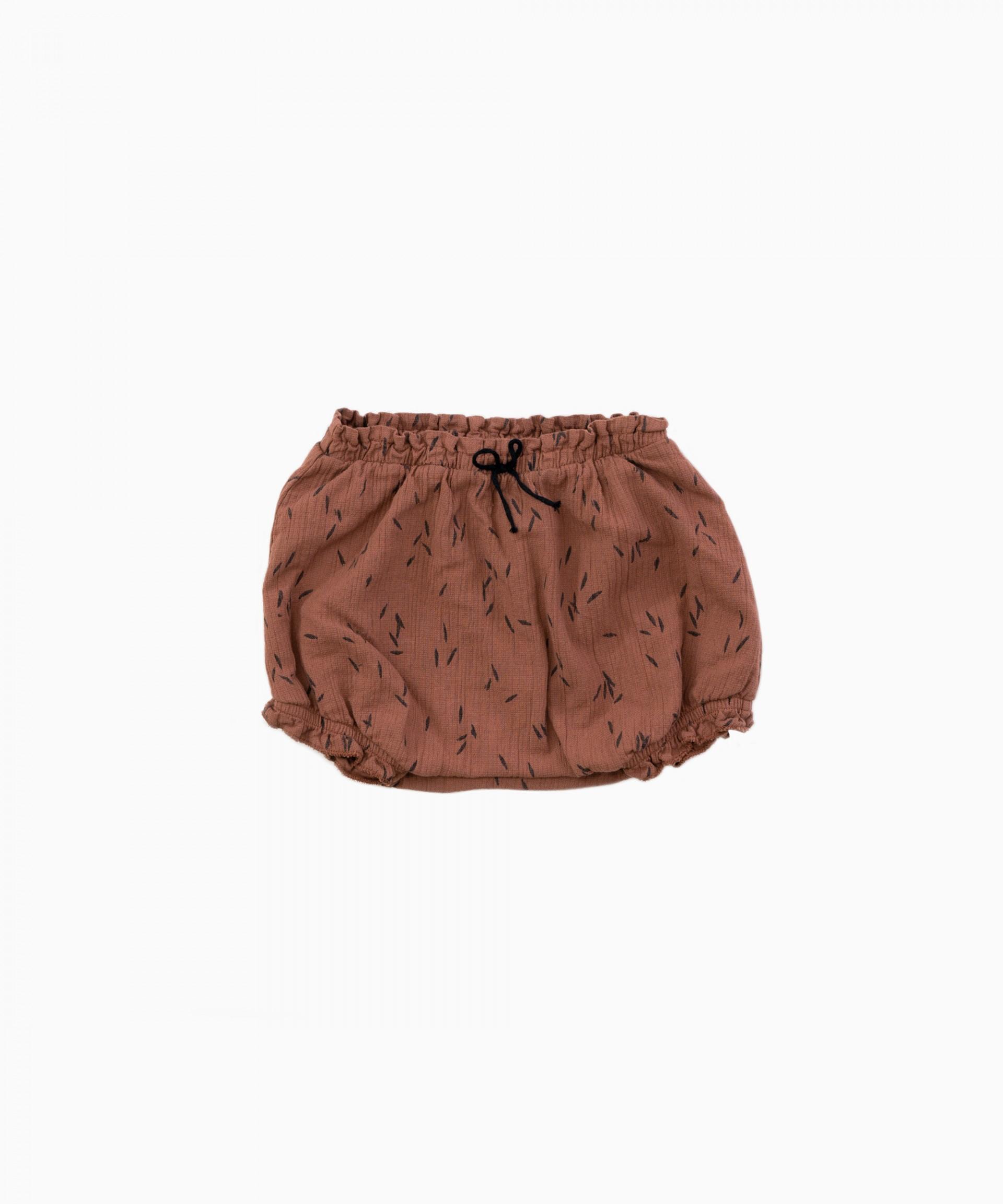 Pantalón corto de tela | Woodwork