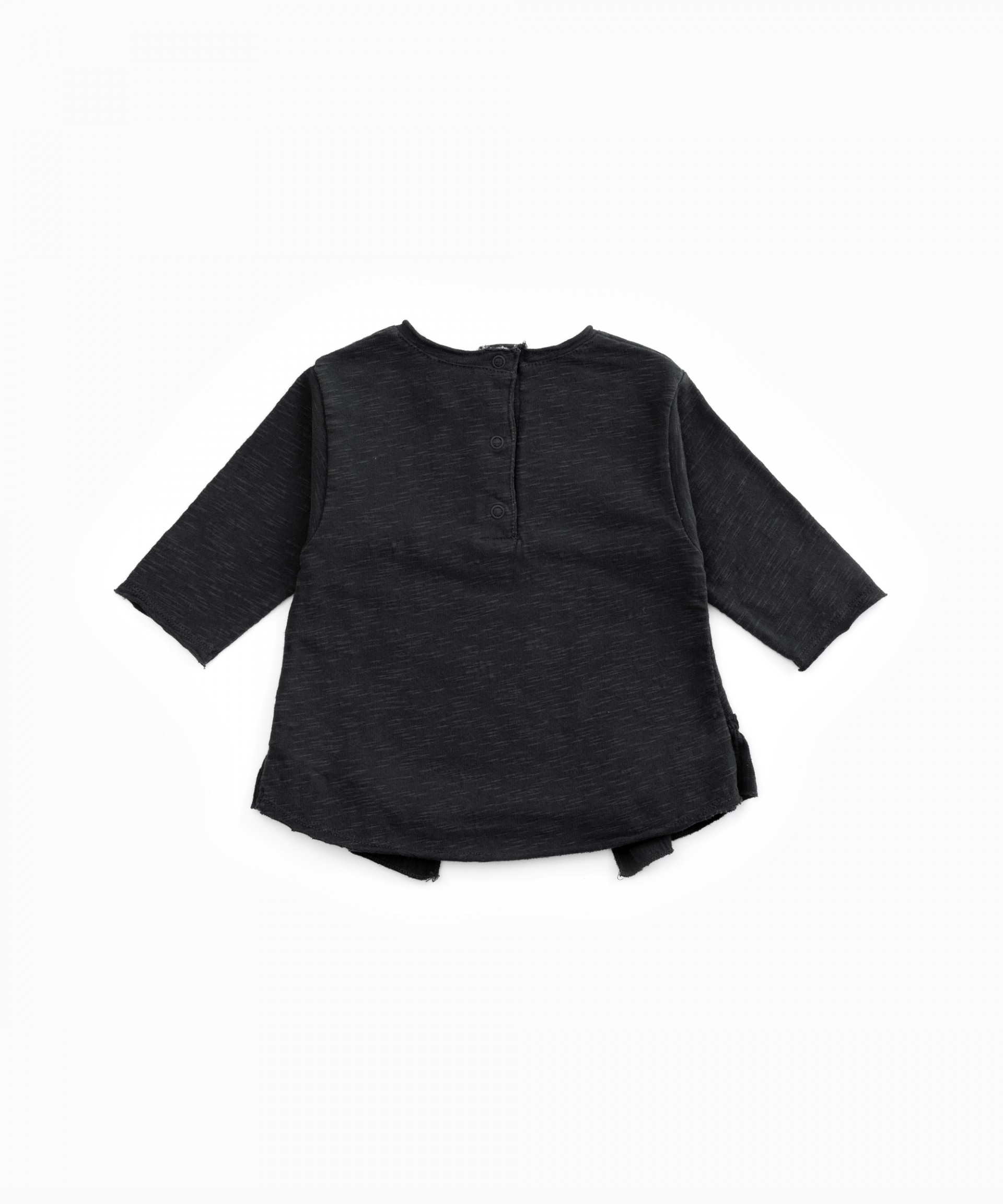T-shirt with frill | Woodwork