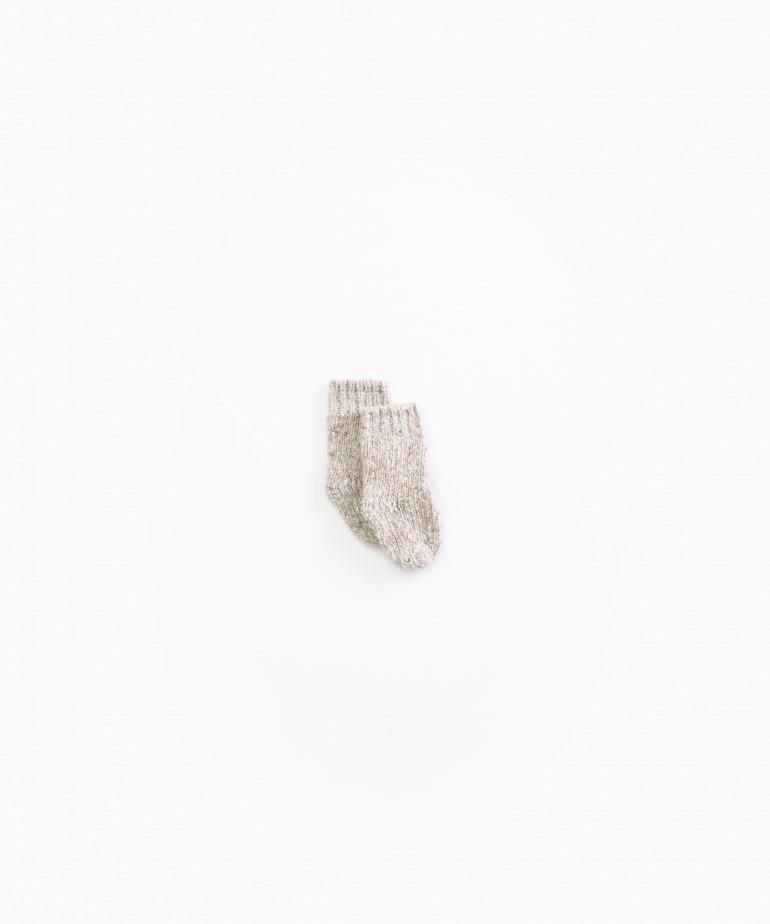 Calze lavorate a maglia