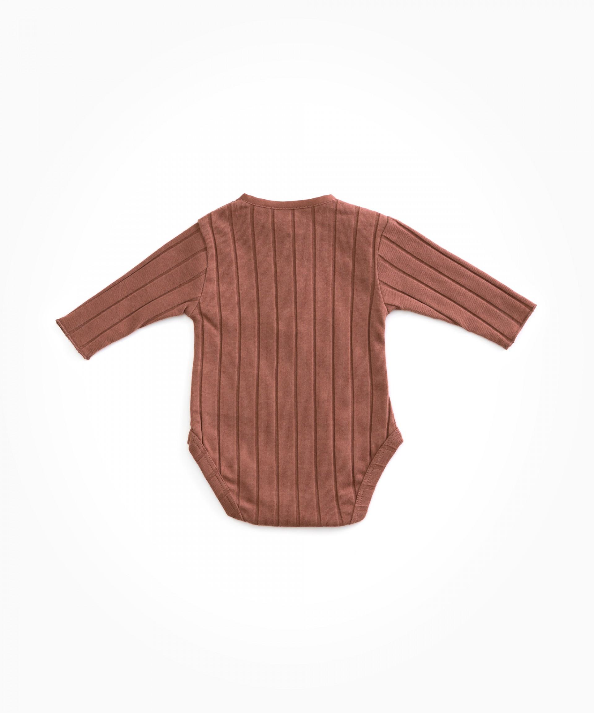 Body em algodão orgânico | Woodwork