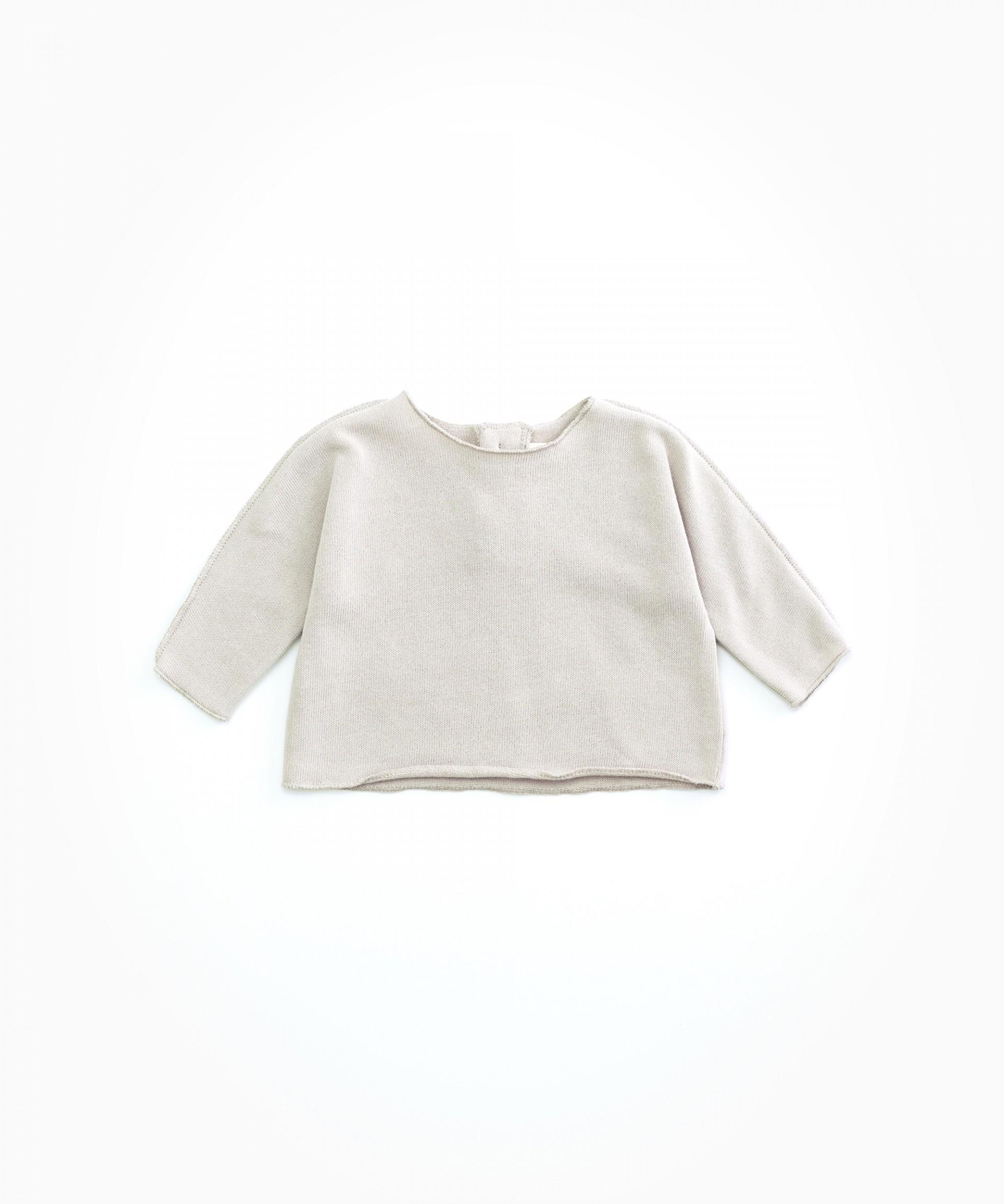 Camisola em algodão orgânico | Woodwork