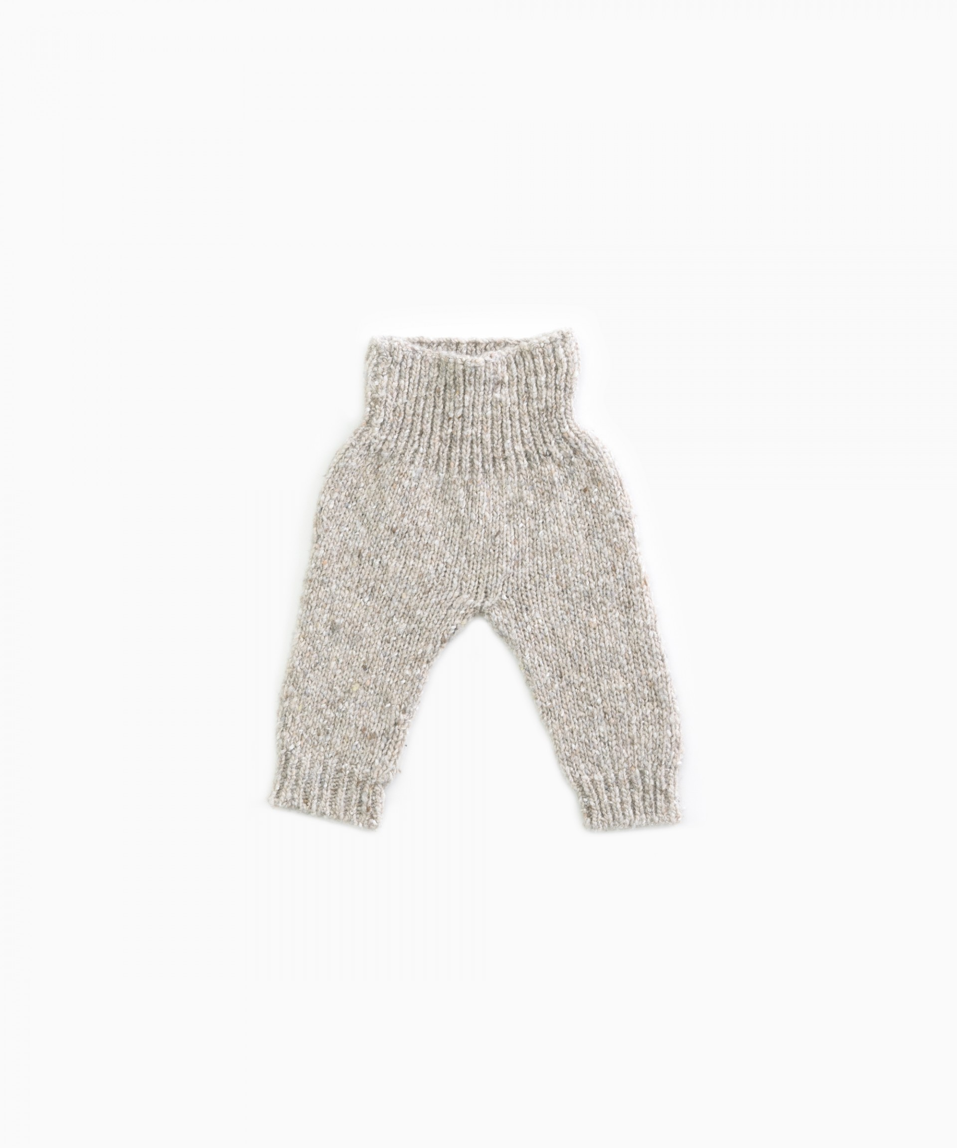 knitted trousers  with recycled fibres | Woodwork