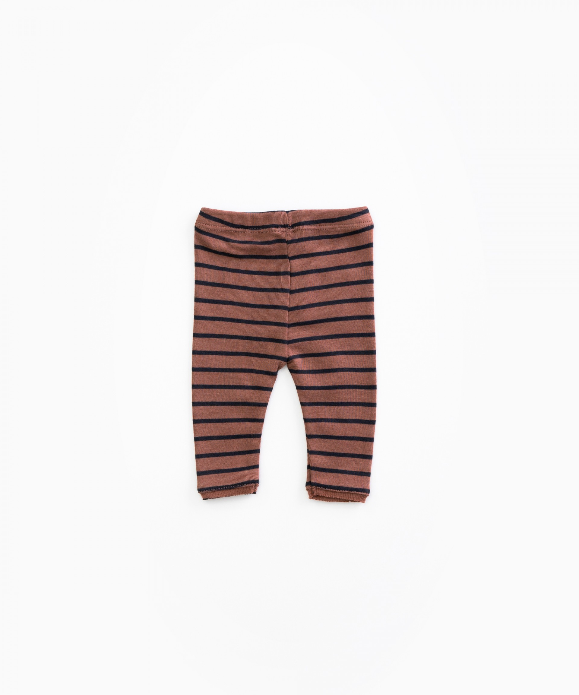 Striped leggings in organic cotton | Woodwork