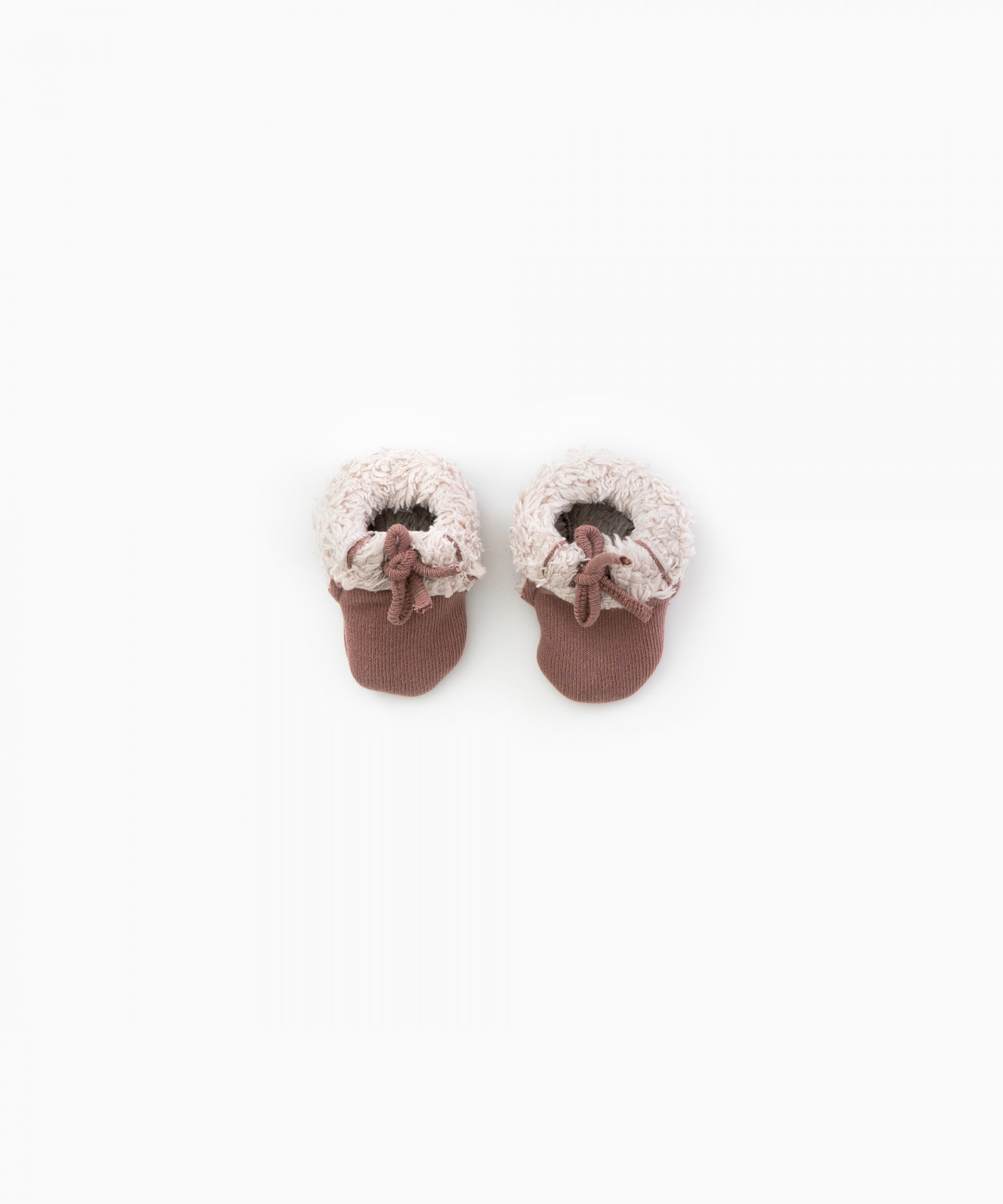 Fur-lined shoes | Woodwork