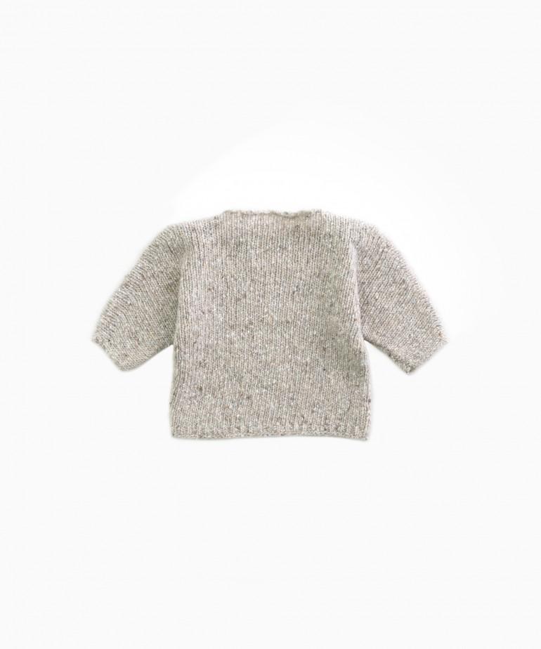 Jersey tricot con fibras recicladas