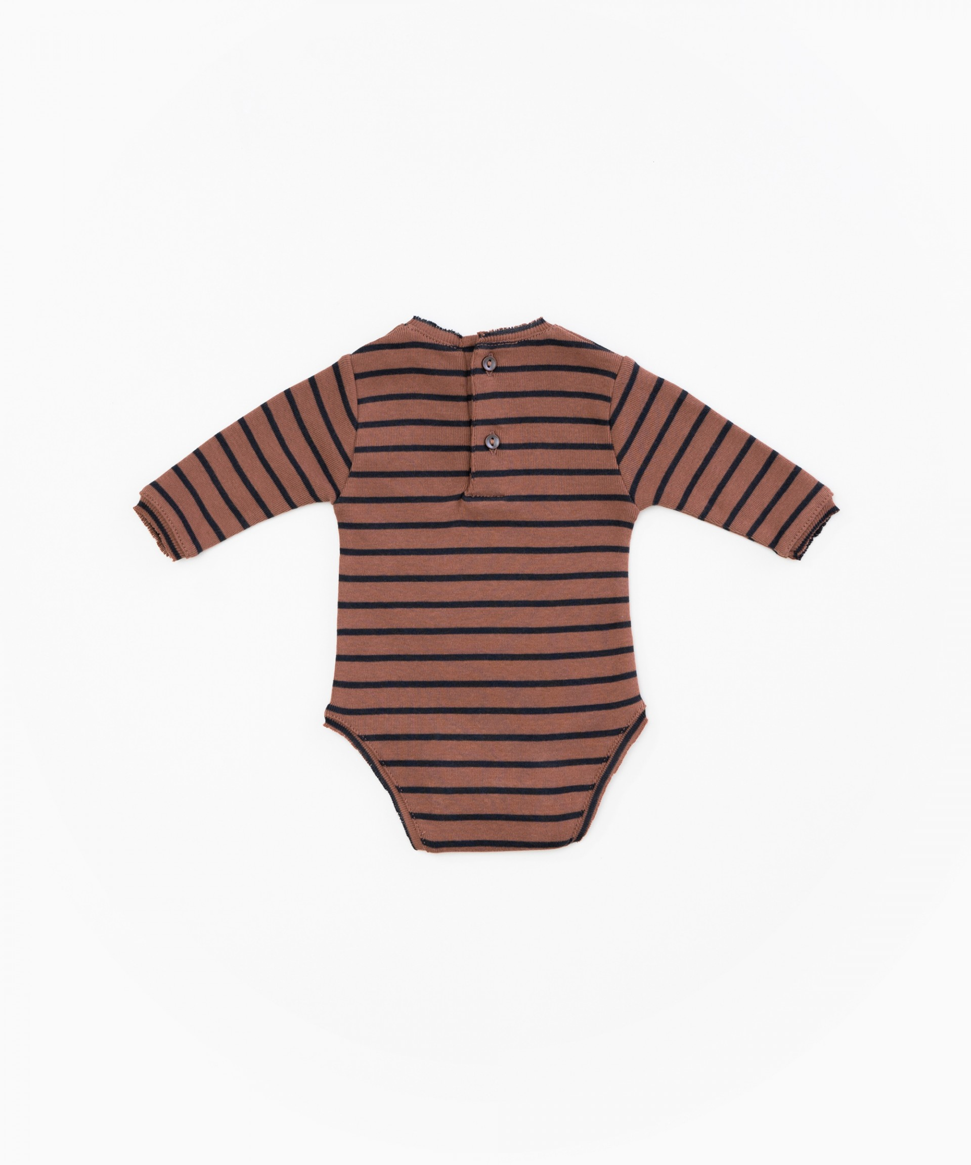 Organic cotton striped body | Woodwork