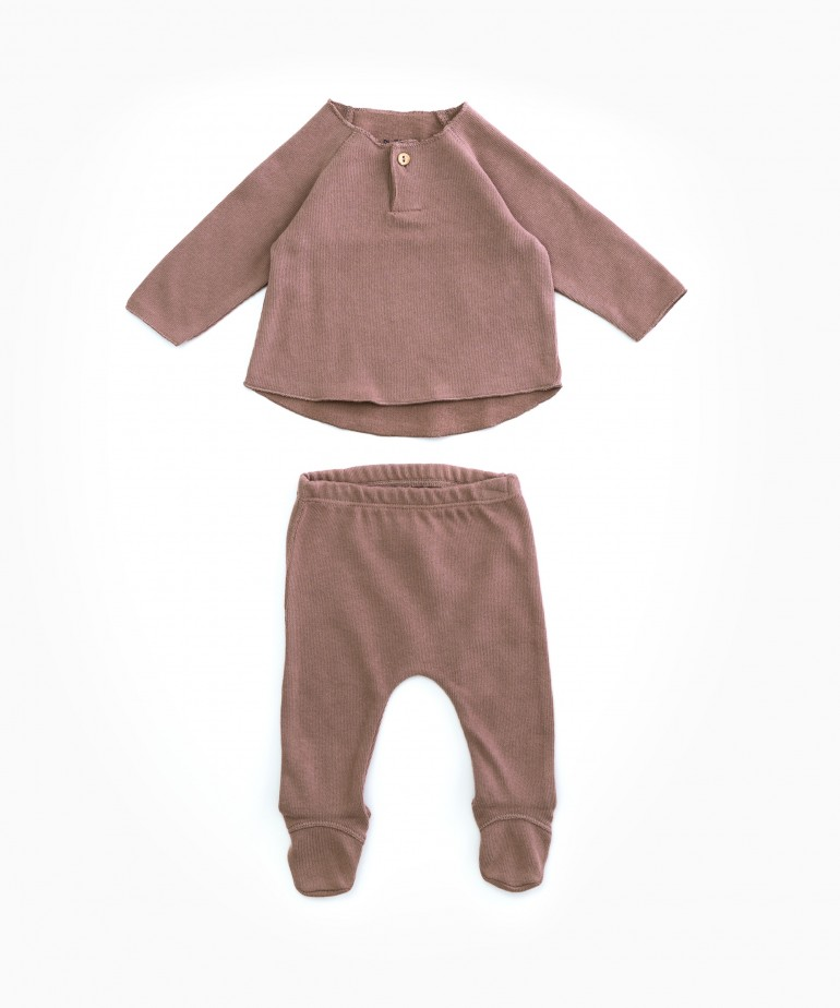 Jersey and trouser set