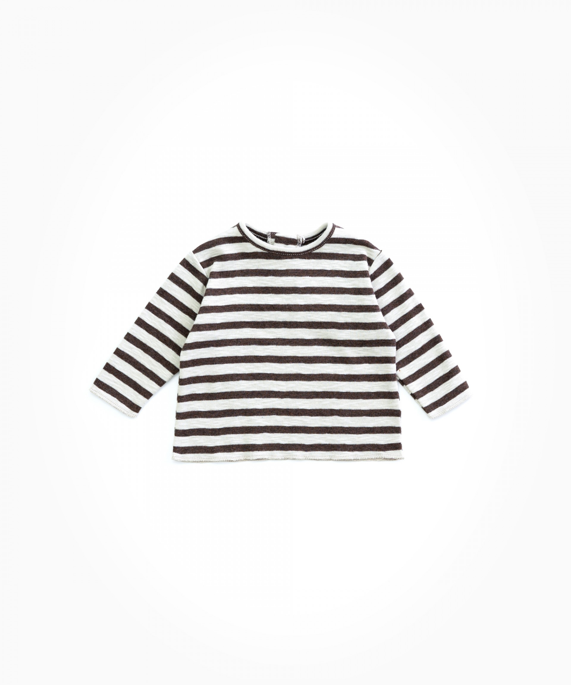 Organic cotton striped T-shirt | Woodwork