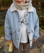 Cappottino in jeans | Woodwork