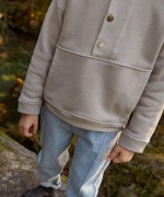 Camisola com bolso | Woodwork