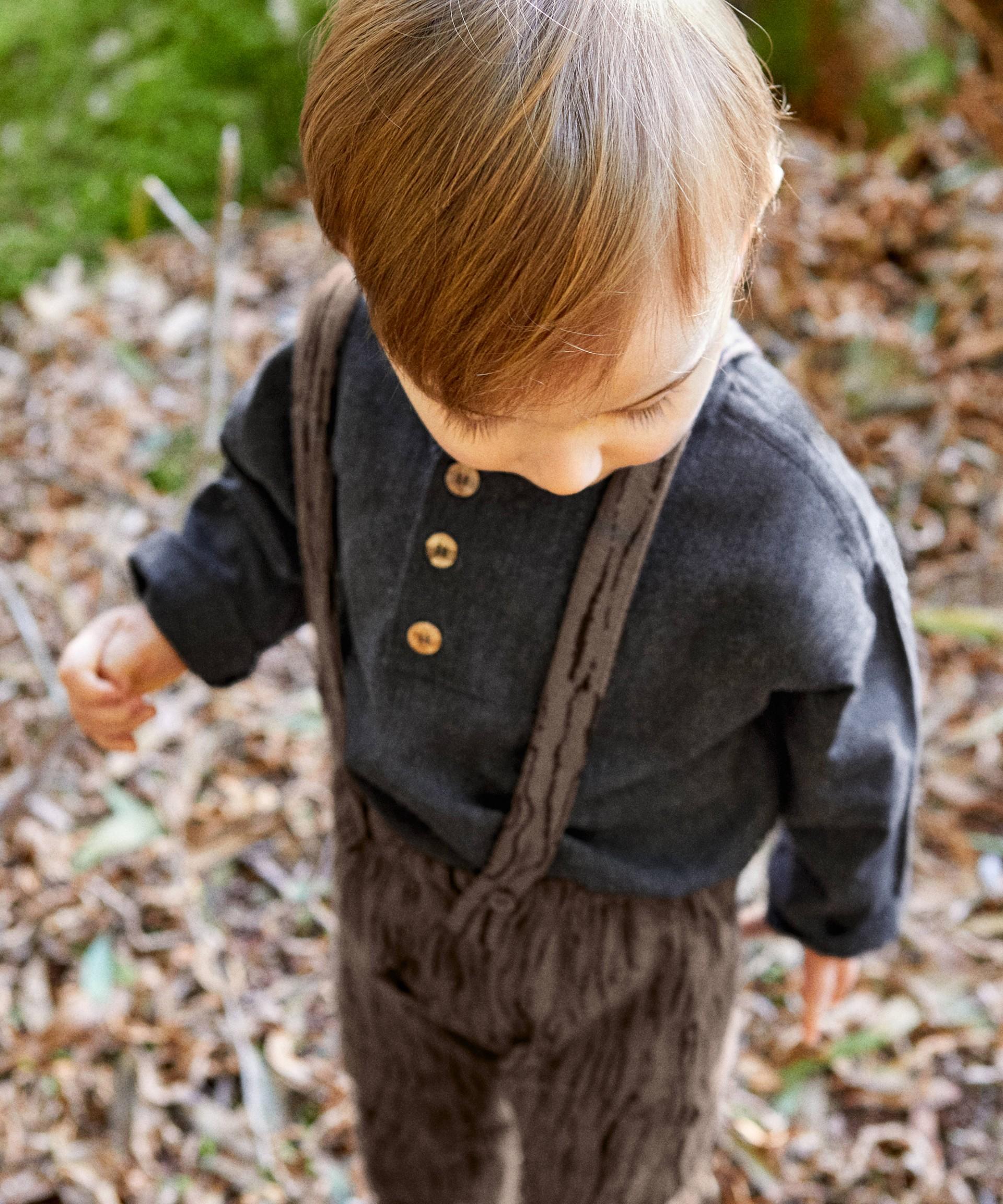 Camisa con botones de coco | Woodwork