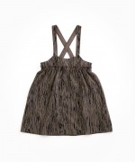 Dress with pattern and adjustable straps | Woodwork