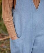 Tutona di jeans con tasche | Woodwork