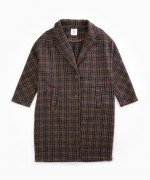 Chequered jacket with pockets | Woodwork