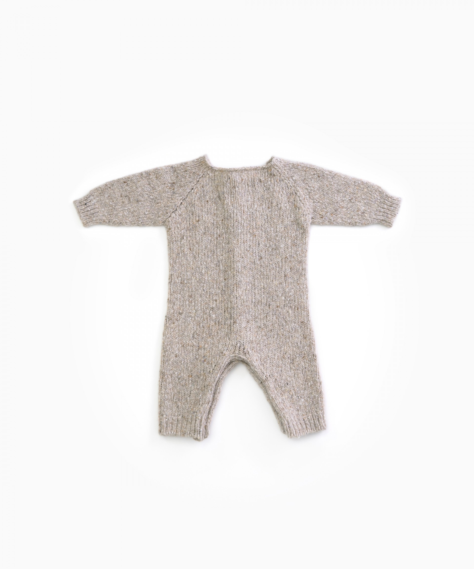 knitted jumpsuit with recycled fibres | Woodwork