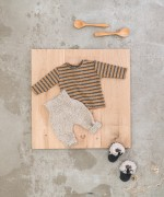 T-Shirt a righe in cotone biologico | Woodwork