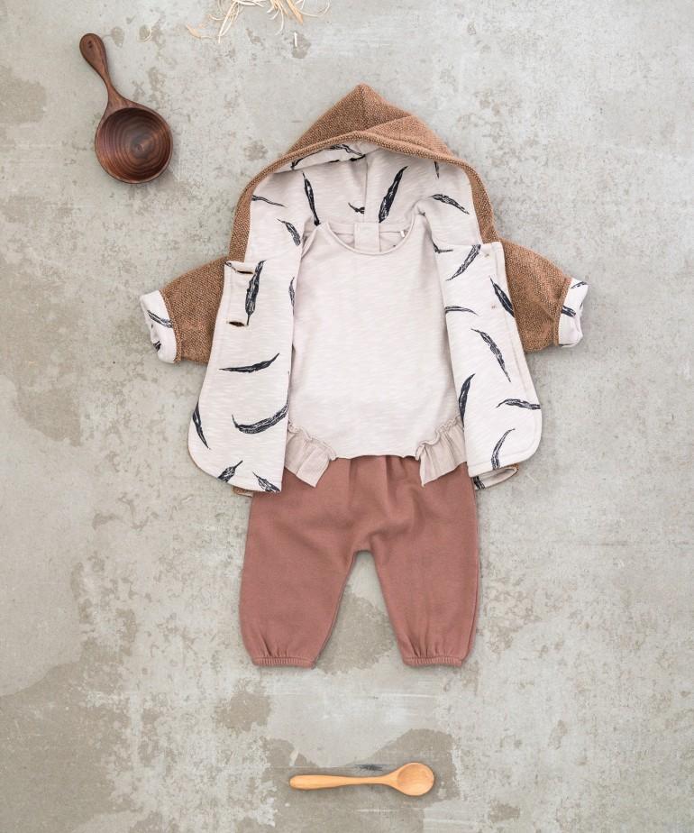 Double-sided furry jacket