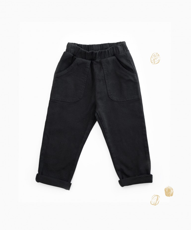 Pantaloni di twill con tasche