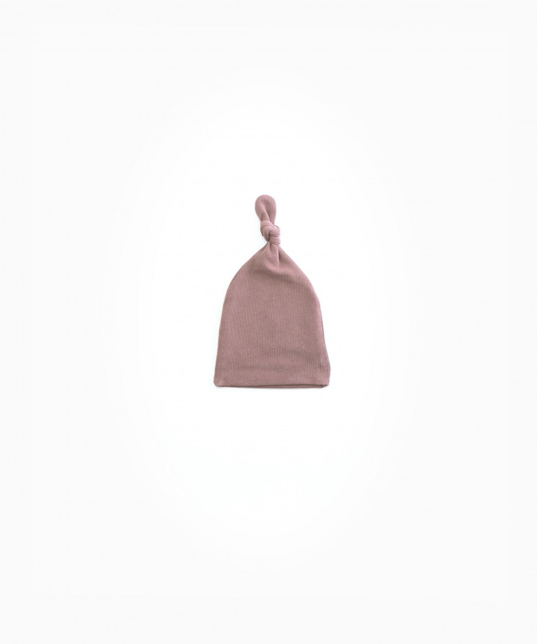 Bonnet in organic cotton