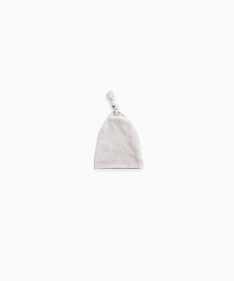 Bonnet in organic cotton