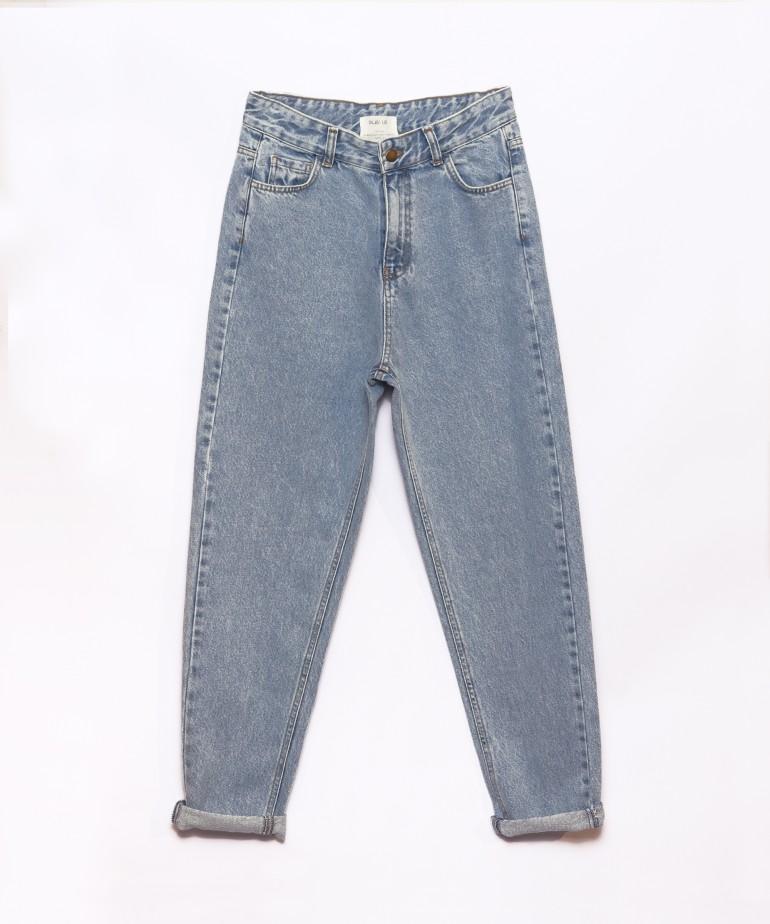Pantaloni di jeans di cotone