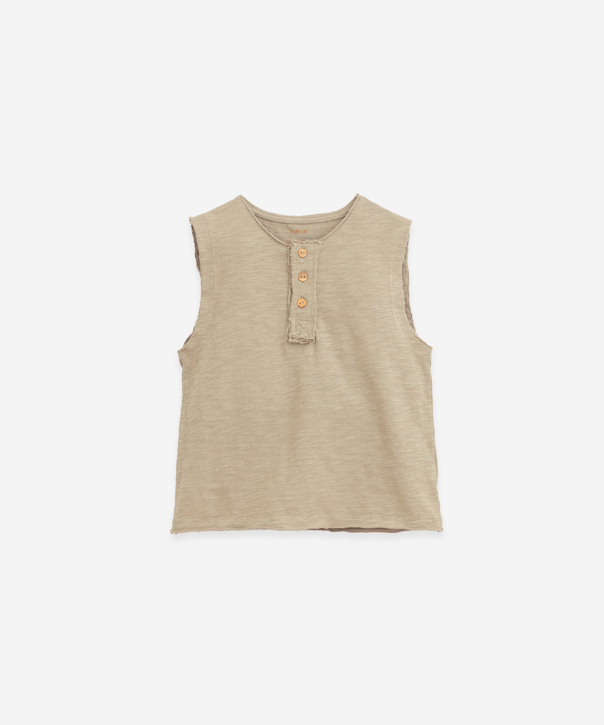 Sleeveless T-shirt | Botany