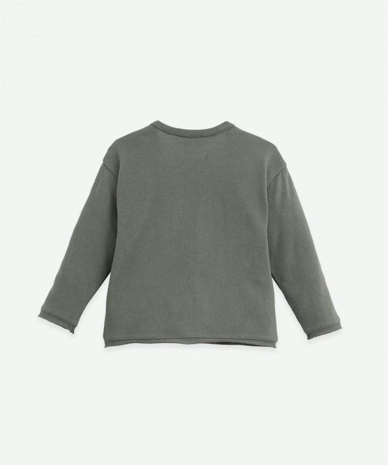 Coat in organic cotton