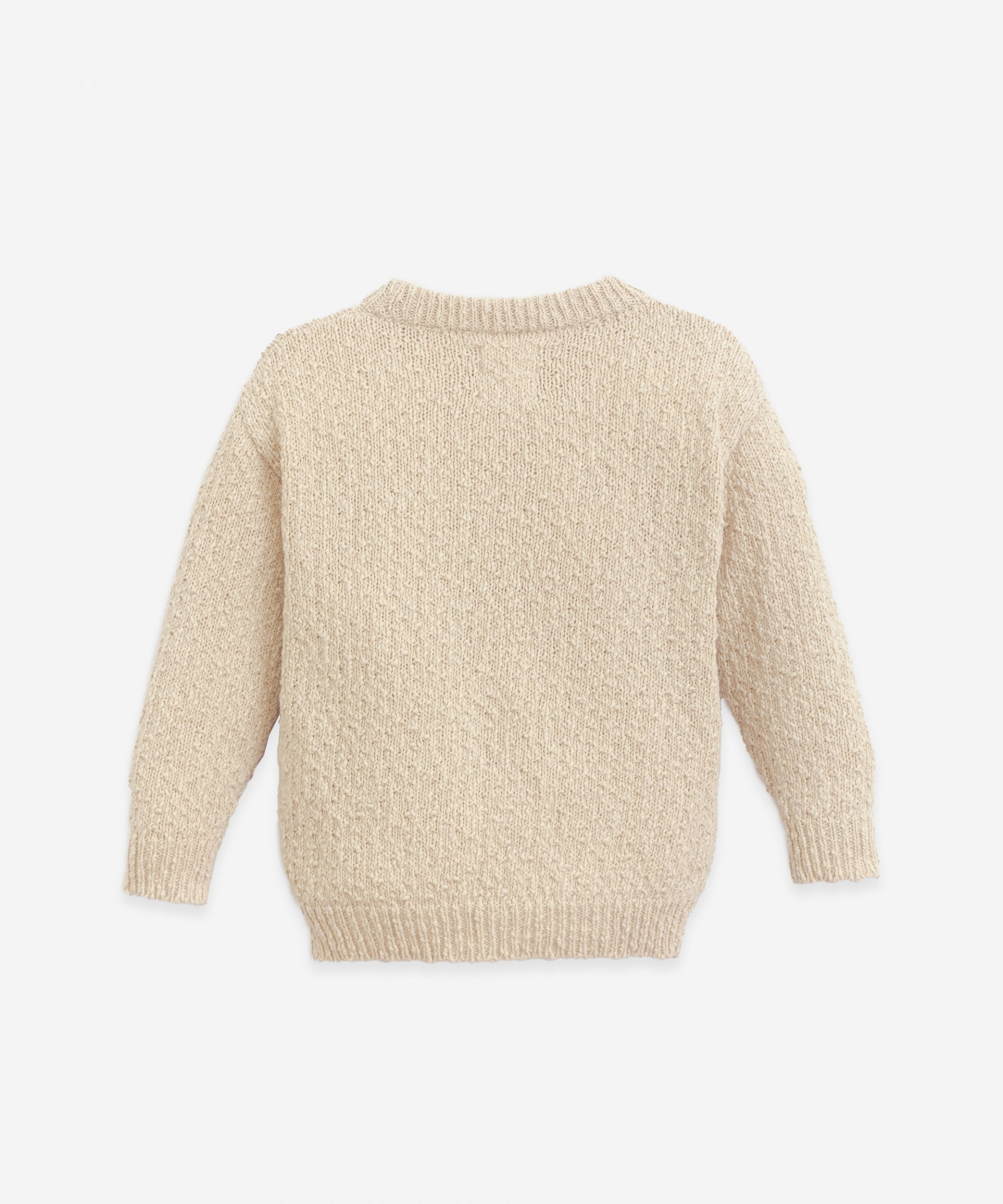 Cotton and linen sweater   Botany
