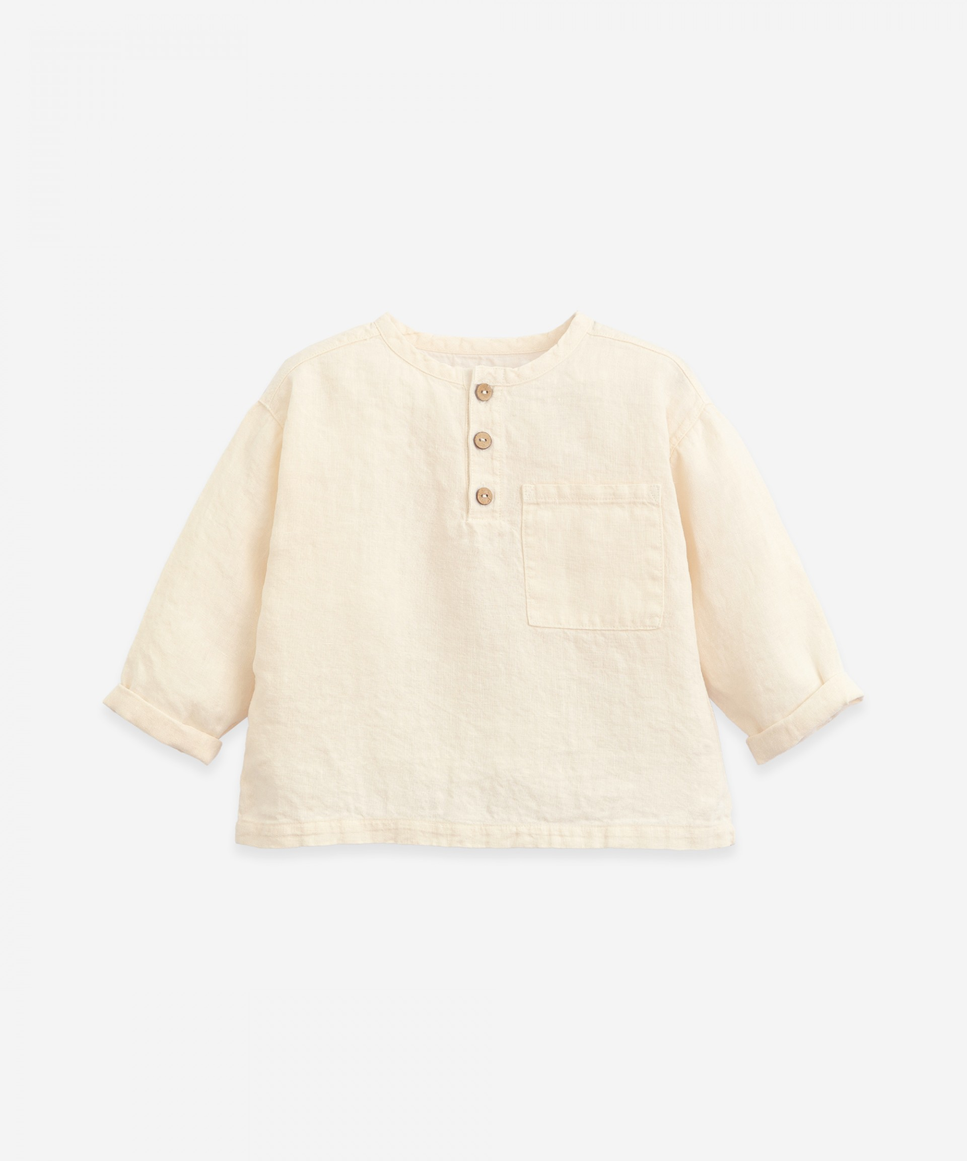 Camicia in lino con tasca | Botany