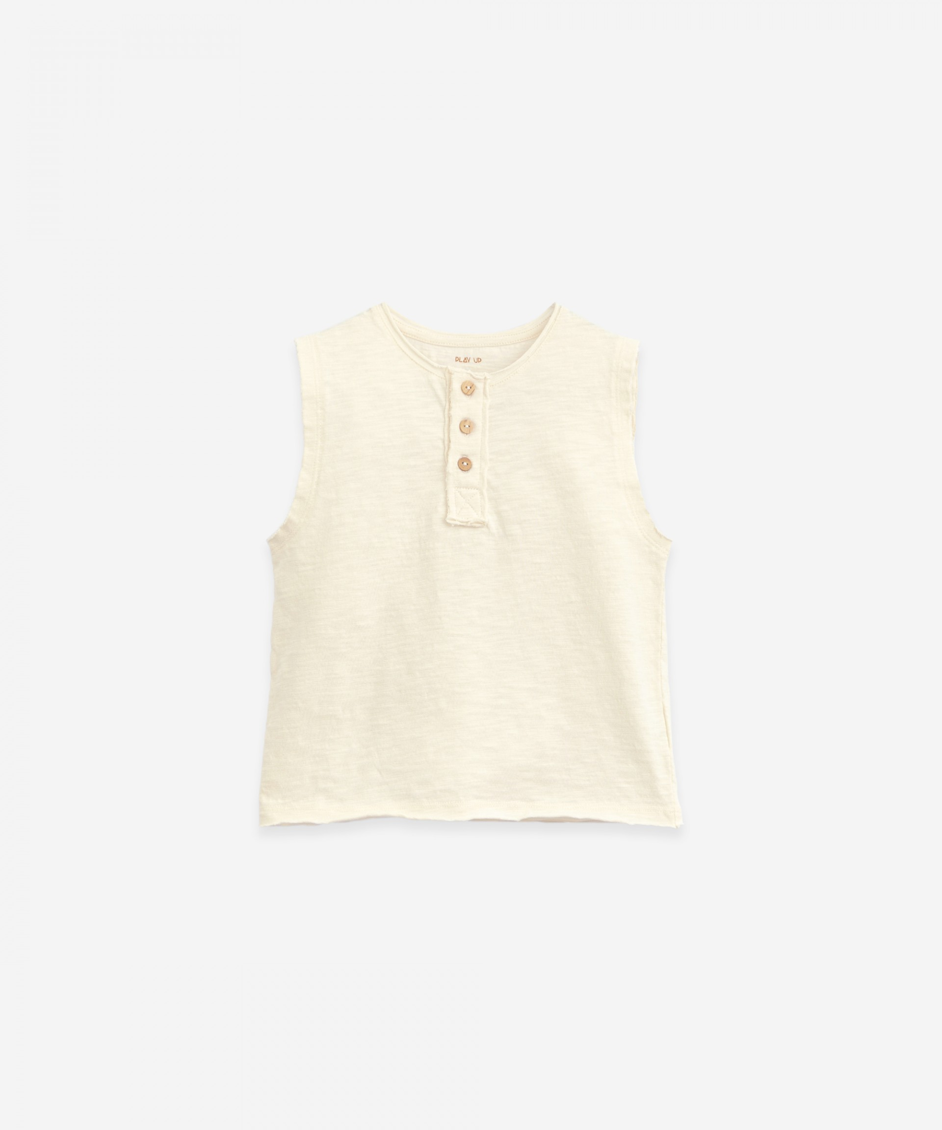 Sleeveless T-shirt | Botany