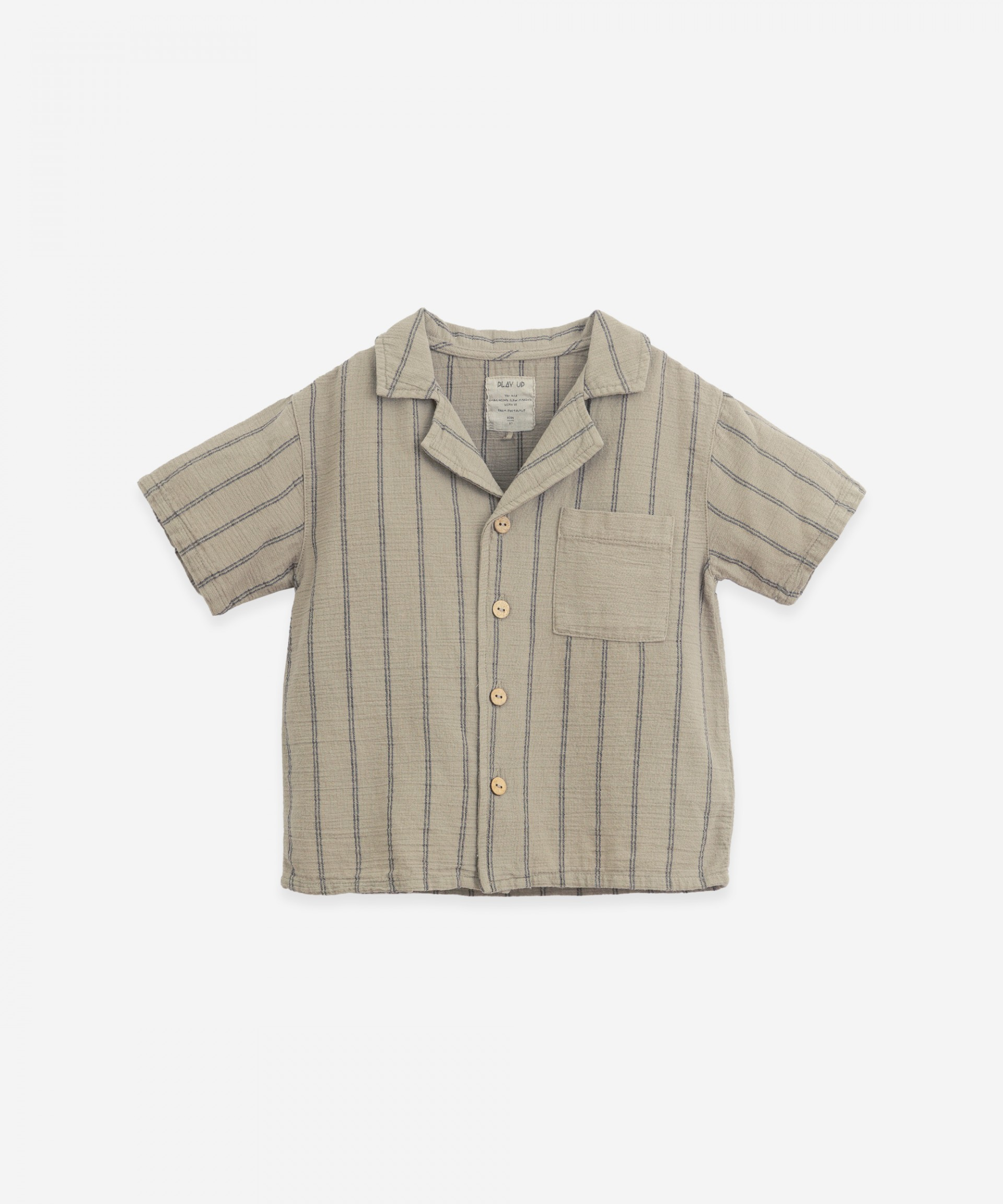 Striped shirt with pocket | Botany
