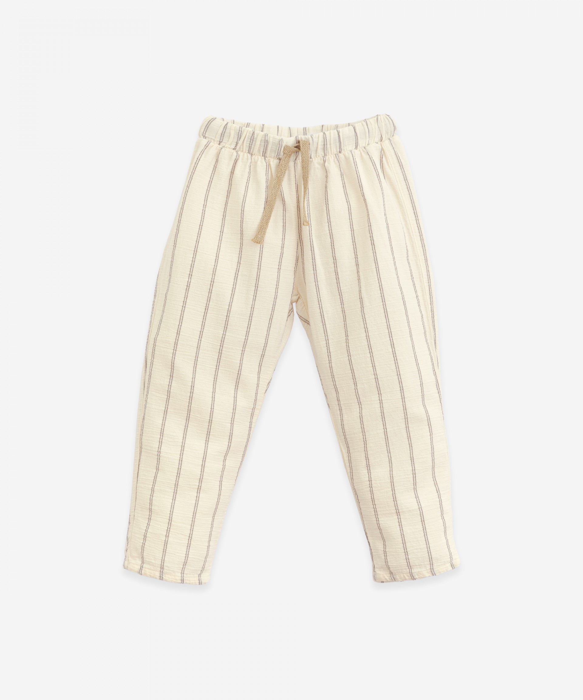 Trousers with a cord | Botany
